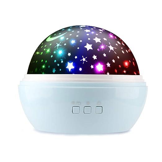 Amazon.com: Luz nocturna para niños, Ifecco Baby Star luz ...