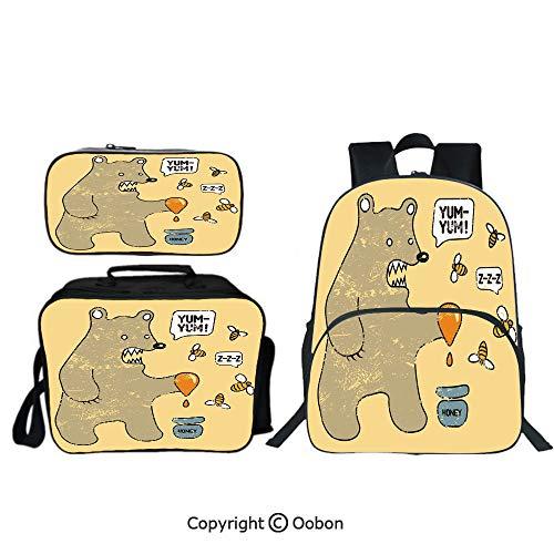 (Oobon Kids Toddler School Waterproof 3D Cartoon 16