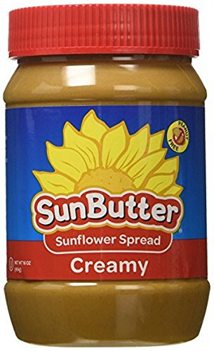 SUNBUTTER, SUNBUTTER, CREAMY, Pack of 6, Size 16 OZ - No Artificial Ingredients Gluten Free
