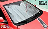 #3: VViViD UV Reflective Insulated Foil Windshield Sunshade Screen