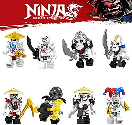 Blocks Hero Ninja Royals Go - New 2019 Best Ninjas Warriors Heroes w/Weapons! Cool Mini Figure Toys for Kids