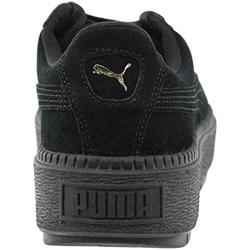 Trace Parkas B 7 forme Noir Noire Femmes Nous Plate Puma t1Bqwn
