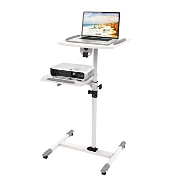 Amazon.com: BABIFIS Mobile Projector Trolley Stand ...