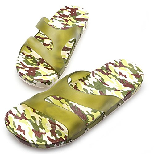 HP95(TM) Men's Shoes,Beach Flip Flops, Summer Sandal Slipper,Massage Flip-flops (10, B)