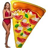 Floatie Kings Neapolitan Pizza Lounge Pool Float - Giant Premium Inflatable