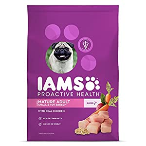 IAMS PROACTIVE HEALTH Mature Adult Small and Toy Breed Dry Dog Food 6 Pounds 113