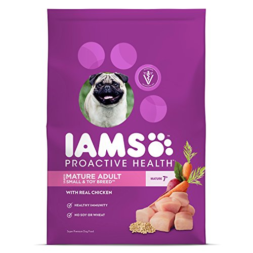 IAMS PROACTIVE HEALTH Mature Adult Small and Toy Breed Dry Dog Food 6 Pounds (Beta Dog Food Best Price)