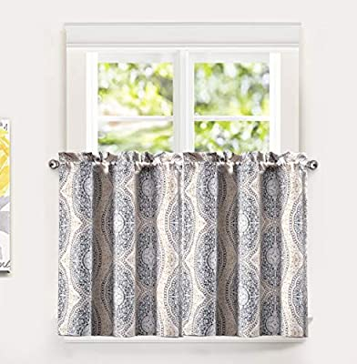 DriftAway Adrianne Thermal/Room Darkening Grommet Unlined Window Curtains, Set of Two Panels, Each