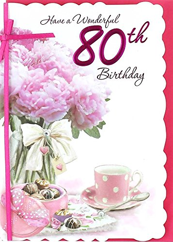 Cards Galore Online Age 80 Female Birthday Card