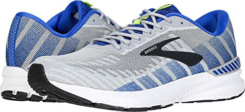 Brooks Men's Ravenna 10 Alloy/Blue/Nightlife 15 EE US