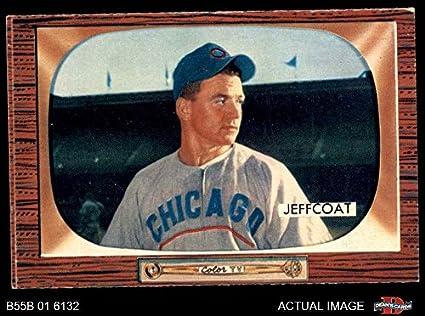 Amazoncom 1955 Bowman 223 Hal Jeffcoat Chicago Cubs Baseball