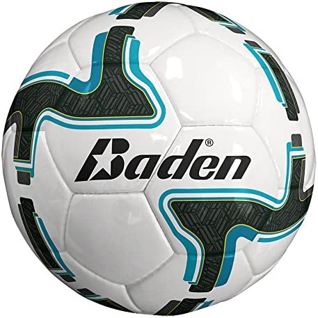 Baden Equipo de balón de fútbol, Color Blanco/Gris/Azul, tamaño 3 ...