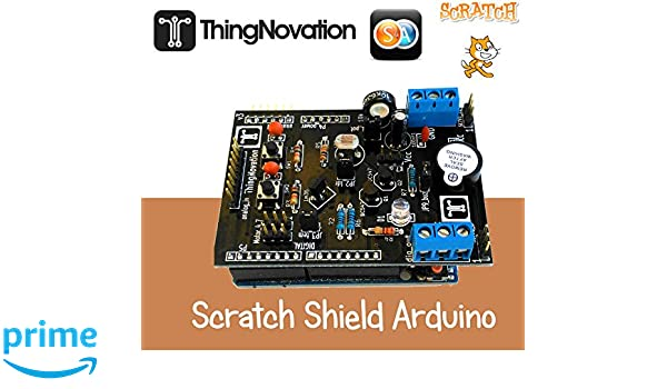ARDUINO SHIELD S4A SCRATCH ROBOTICA PADRES NIÑOS ROBOTICS STUDENT PARENTS: Amazon.es: Informática