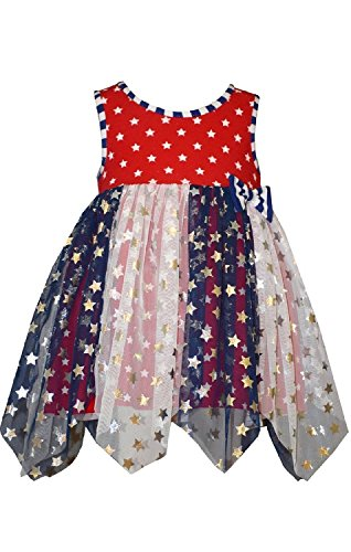 infant 4th of july dress - 4
