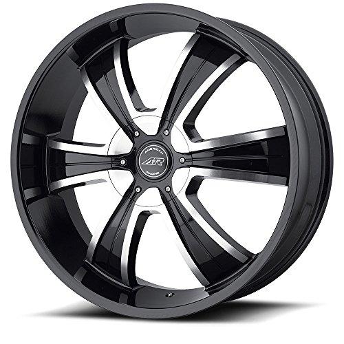 ng Custom Wheels AR894 Wheel 15mm 5x135 BLACK (American Racing Pro Series)