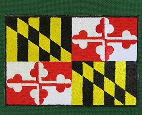 Maryland Flag Laptop Bag Maryland Messenger Bag by Broad Bay (Image #1)
