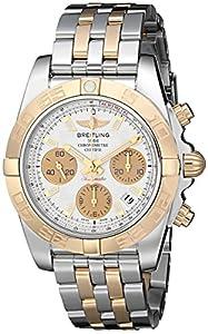 Breitling Men's CB014012-G713TT Chronomat 41 Analog Display Swiss Automatic Two Tone Watch