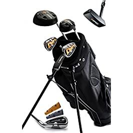 EPEC Upgradeable Junior Golf Clubs & Bag for Kids (5PC Set)