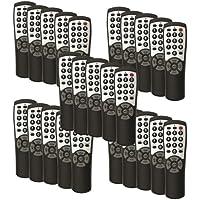 25-pack Brightstar® BR100B Universal TV Remote