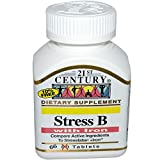 Stress B with Iron – 66 tabs,(21st Century) Review