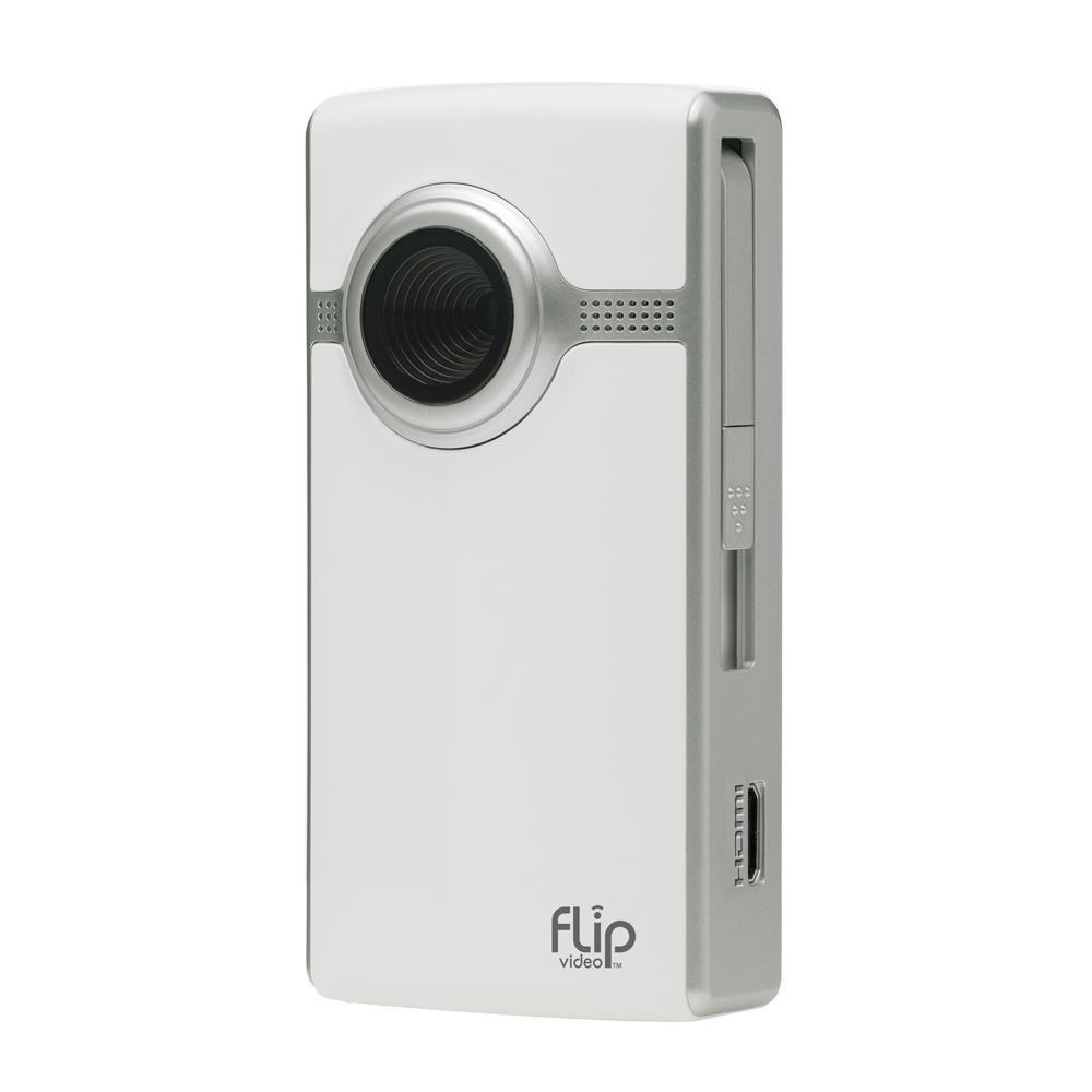 Amazon.com : Flip UltraHD Video Camera - White, 4 GB, 1 Hour : Camcorders :  Camera & Photo