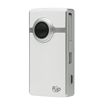 Amazon.com : Flip UltraHD Video Camera - White, 4 GB, 1 Hour ...