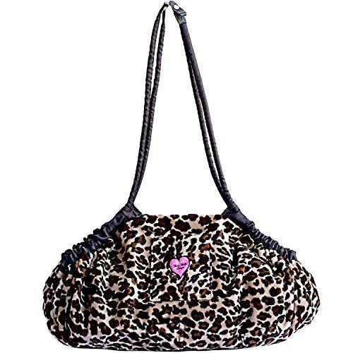 Baby Bella Maya 5 in 1 Diaper Tote Bag, Multi-Purpose Lollipop Leopard