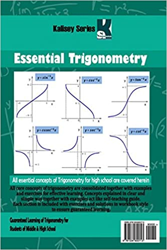 Essential Trigonometry: Saurya Singh: 9781534600713: Amazon.com: Books
