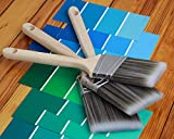 "2.5"" Angle Paint Brushes Medium Stiff, for"