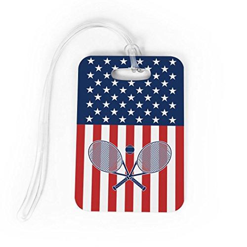 Tennis Luggage & Bag Tag | USA Tennis | No Personalization on Back | MEDIUM