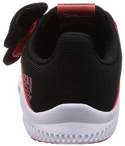 adidas DY Minnie Fortarun CF I, Zapatillas de Deporte Unisex Niños Rojo (Roalre / Ftwbla / Negbas 000)