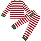 Jastore Baby Boys Girls Striped T-Shirt and Pants