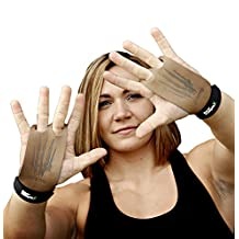 Bear KompleX 2 hole Gymnastics grips and Crossfit ™ grips Great for WODs, pullups, weight lifting, chin ups, cross training, exercise, kettlebells, and more. Protect your palms from rips and tears!