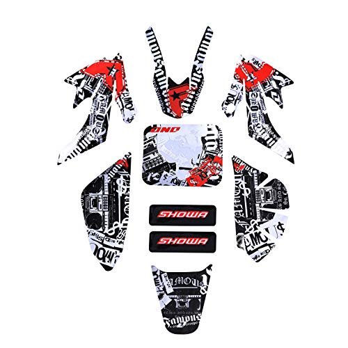 ZXTDR Decal Graphics Sticker Fairing Kit for CRF50 PIT PRO Dirt Bike Thumpstar SSR TG010