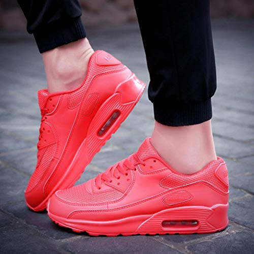 Jogging Student Womens Air Shoes Shoes Air Shoes Fitness Trainer Red Running Shoes Running Absorbing Trainers LILICAT Cushion Couple New Travel Gym Shock Casual Sports YxdOnZHPq