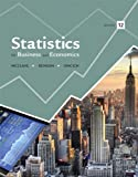 Statistics for Business and Economics, McClave, James T. and Benson, P. George, 0321882520
