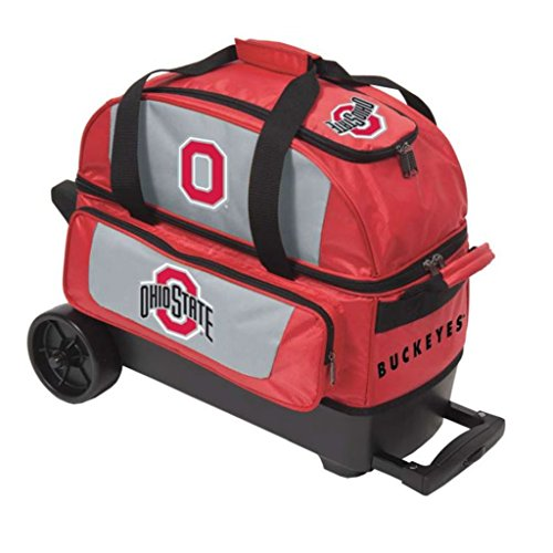 The Ohio State University 2 Ball Roller Bowling Bag - Bag Collegiate Stand University