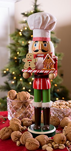 Christmas Chef Nutcracker By Clever Creations Holding