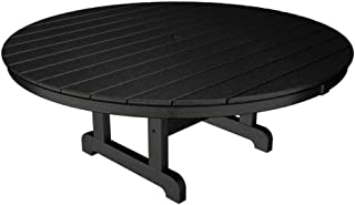 product image for Trex Outdoor Furniture Cape Cod Charcoal Black 48 in. Round Patio Conversation Table