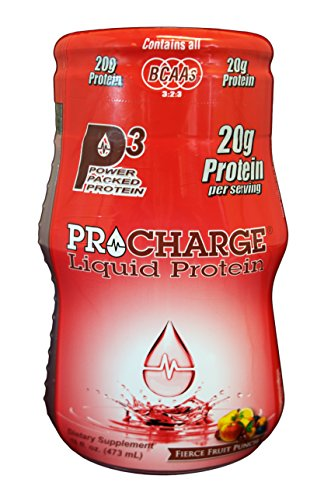 ProCharge Liquid Protein, Fierce Fruit Punch, 16 Fluid Ounce