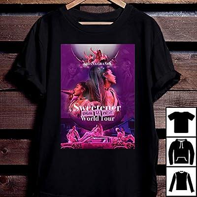 Ariana Grande Sweetener World Tour 2019 T Shirt Ariana Grande T-Shirt Long T-Shirt Sweatshirt Hoodie