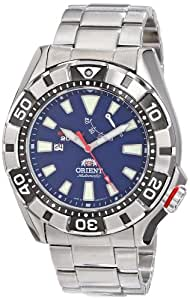 Orient Men's SEL03001D0 M-Force Analog Japanese-Automatic Silver Watch