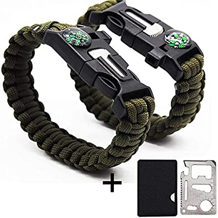 Amazon Com Gogoluck 2 Pack Emergency Tactical Survival Paracord