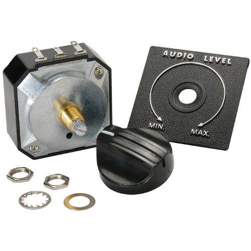 Parts Express Speaker L-Pad Attenuator 50W Mono 3/8'' Shaft 8 Ohm by Parts Express
