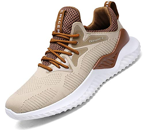 92093c4eb266 SKDOIUL Men's Tennis Shoes Mesh Breathable Sports Running Shoes ...