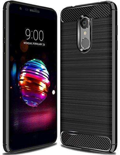 LG K30 Case,LG K10 2018 Case, LG Premier Pro LTE Case, LG Phoenix Plus/LG K10 Plus/LG K10 Alpha Case,Suensan TPU Shock Absorption Technology Raised Bezels Protective Case Cover smartphone