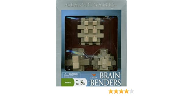 Amazon Cardinal Brain Benders Style 1 Toys Games