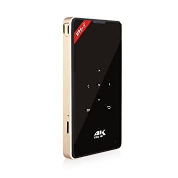 Ballylelly, tamaño pequeño, 1GB + 8GB, 4K, HD, Mini proyector ...