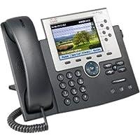 Cisco 7965G IP Phone - Refurbished - Wired - Desktop, Wall-mountable - Dark Gray, Silver