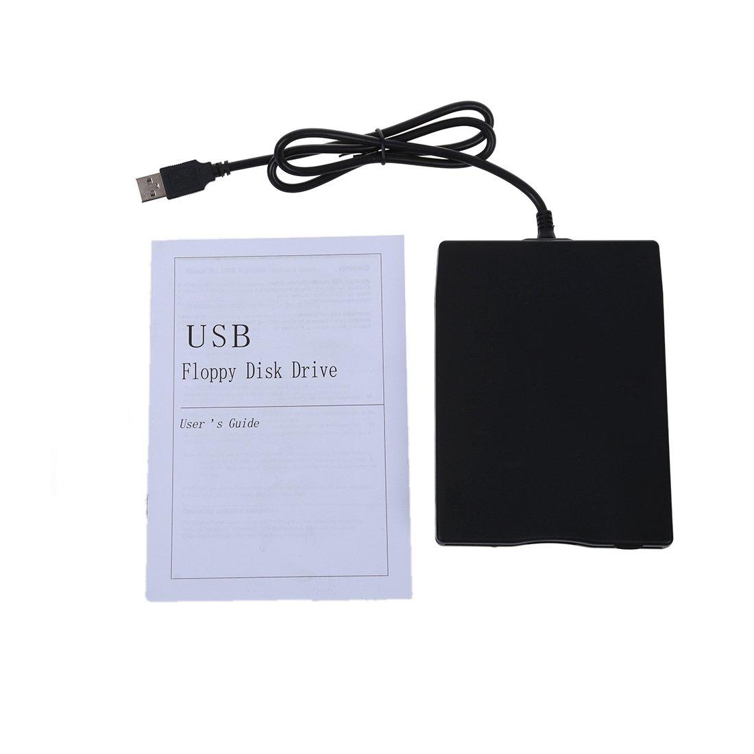 SODIAL(R)Durable USB 2.0 external 3.5-inch 1.44 MB Floppy